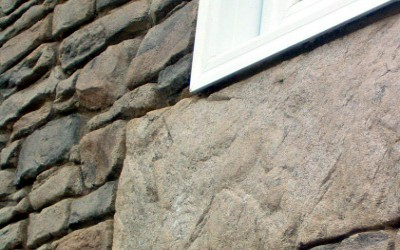 Stone Effect Render For Internal And External Walls