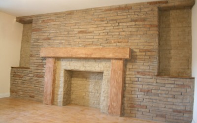 Stone effect render Fireplaces and Inglenooks