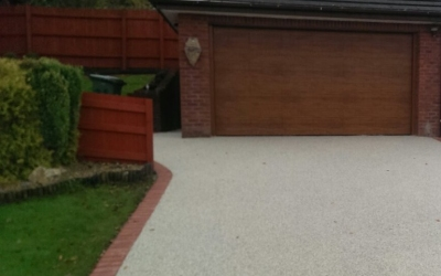 Resin bound driveway Porthcawl, South Wales