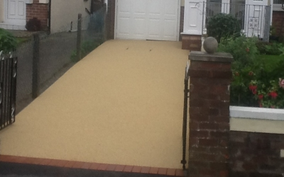 Resin bound driveway Cardiff, South Wales