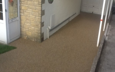 Resin bound driveway Penarth, South Wales