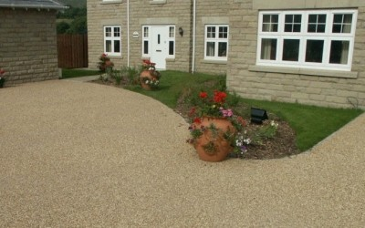 Resin bound driveway Swansea, South Wales