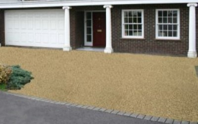 Resin bound driveway Newport, South Wales