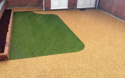 New Resin bound driveway in South Wales
