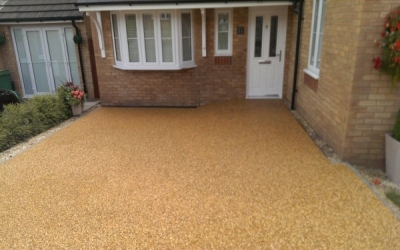 Resin bound driveway Caerphilly, South Wales